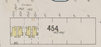 Insurance plan - City of Vancouver, July 1897, revised June 1901 - Sheet 43 - Coal Harbour to Comox Street and Bidwell Street to Stanley Park