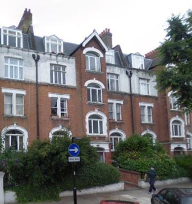 71 to 80 Southwold Mansions, Widley Road, Paddington, London, England; Google Streets; searched February 12, 2016; image dated July 2008.