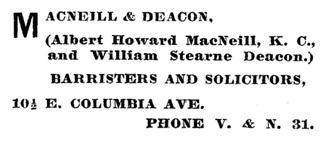 Henderson's BC Gazetteer and Directory, 1901, page 498 (Rossland).