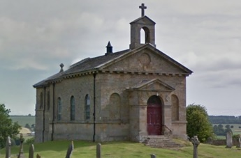 St. Mary's Church, Rokeby, Yorkshire, England, Google Streets, searched February 10, 2016; image dated July 2015.