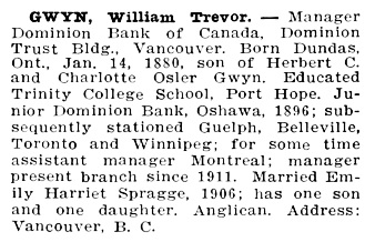 Northern Who's Who; a Biographical Dictionary of Men and Women, Volume 1, C.W. Parker, editor; Vancouver, Western Press Association, 1916, page 302; https://archive.org/stream/northernwhoswhob01park#page/302/mode/1up