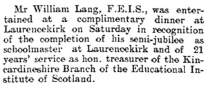 Aberdeen Daily Journal (Aberdeen, Scotland), Issue 15893, December 25, 1905; page 4.