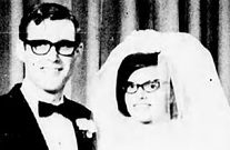 David John King and Kathaleen Mae Sherwood, Prince George Citizen, September 17, 1968, page 6; http://pgnewspapers.pgpl.ca/fedora/repository/pgc:1968-09-17-06.