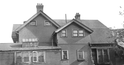 Mahon [house], last house on Burrard [1927?]; City of Vancouver Archives - CVA 677-956; http://searcharchives.vancouver.ca/mahon-house.
