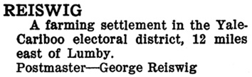 Henderson's BC Gazetteer and Directory, 1910, Part 1, page 580