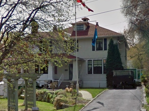 157 West Nicola Street, Kamloops, British Columbia. Google Streets, searched October 29, 2015, image dated April 2012