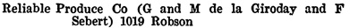 Henderson's Greater Vancouver City Directory, 1914, Part 2, page 1178