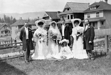 Wedding of Eustace Hazelwood Grubbe; British Columbia Archives, Item D-06828; http://search.bcarchives.gov.bc.ca/wedding-of-eustace-h-grubbe-hazelwood.