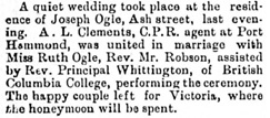 Victoria Daily Colonist, October 27, 1892, page 2; http://archive.org/stream/dailycolonist18921027uvic/18921027#page/n1/mode/1up