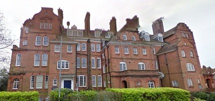 Highland Mansions, Pevensey Road, St. Leonards-on-sea, East Sussex; Google Streets, searched May 25, 2016; image dated April 2011.