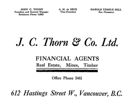 Henderson's Greater Vancouver Directory, 1911, Part 1, page 611