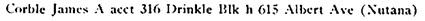 Henderson's Directory for Saskatoon, 1912, page 291; http://peel.library.ualberta.ca/bibliography/3177.2.3/295.html.