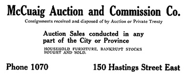 Henderson's Greater Vancouver Directory, 1911, Part 1, page 220
