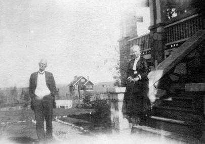 Mr. and Mrs. Roderick Campbell Senior at 3168 West King Edward Avenue; City of Vancouver Archives ; CVA 371-202; http://searcharchives.vancouver.ca/mr-and-mrs-roderick-campbell-senior-at-3168-west-king-edward-avenue