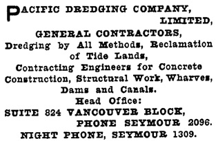 Henderson's Greater Vancouver City Directory, 1913, Part 2, page 1173