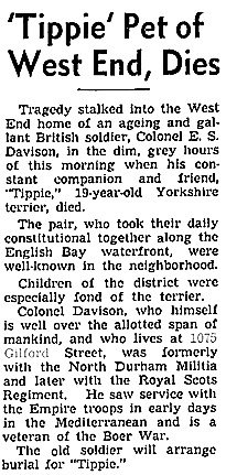Vancouver Sun, August 27, 1940, page 14.