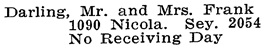 Vancouver Social Register and Club Directory, 1914, page 20