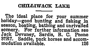 Chilliwack Progress, July 26, 1923, page 5; http://theprogress.newspapers.com/image/43158592/.