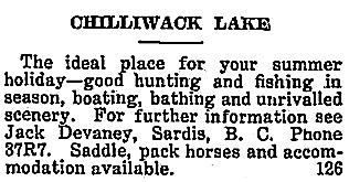 Chilliwack Progress, July 26, 1923, page 5; http://theprogress.newspapers.com/image/43158592/.
