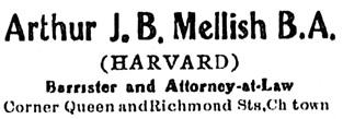 Charlottetown Guardian, August 30, 1910, page 3, column 4 (near bottom of column); http://islandnewspapers.ca/islandora/object/guardian%3A19100830-003?solr