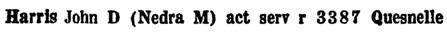 British Columbia and Yukon Directory, 1944, page 715 [edited image]