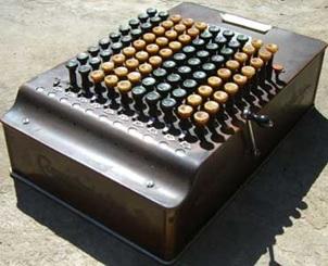 Comptometer (key-operated calculator); The Comptometer of Dorr Felt, http://history-computer.com/MechanicalCalculators/19thCentury/Felt.html