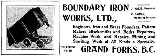 Phoenix Pioneer and Boundary Mining Journal, December 31, 1904, page 28H; https://open.library.ubc.ca/collections/bcnewspapers/xphoenix/items/1.0185572#p41z-2r0f: