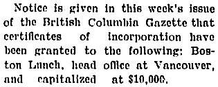 Revelstoke Mail-Herald, September 11, 1915, page 4; https://open.library.ubc.ca/collections/bcnewspapers/mherald/items/1.0311308#p3z-2r0f: