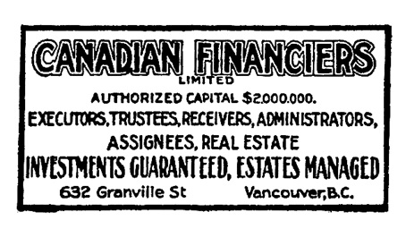 Henderson's City of Vancouver and North Vancouver Directory, 1910, Part 1, page 745