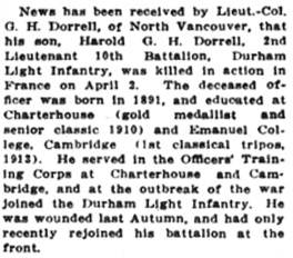 Victoria Daily Colonist, April 13, 1916, page 5; http://archive.org/stream/dailycolonist58y106uvic#page/n4/mode/1up