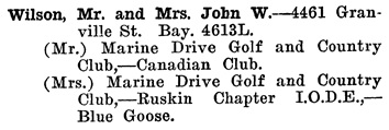 Greater Vancouver Social and Club Register, 1927, page 76