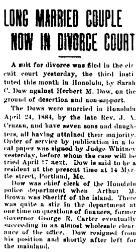 The Hawaiian Gazette, February 9, 1915, page 3; http://chroniclingamerica.loc.gov/lccn/sn83025121/1915-02-09/ed-1/seq-3/