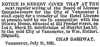 The Independent, Vancouver, British Columbia, August 10, 1901, page 2; https://open.library.ubc.ca/collections/bcnewspapers/xindependen/items/1.0180433#p1z-1r0f: