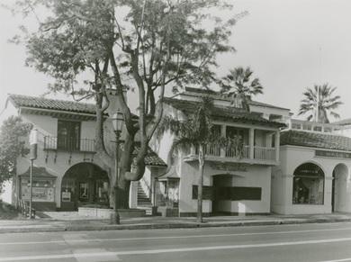 Wm H. Gilchrist, 1300 block State Street, Santa Barbara, http://adrlprod21.library.ucsb.edu/images/4f16c294j%2Ffiles%2Fc525b469-10cb-4154-b67a-943d88ef8017/full/600,/0/default.jpg.