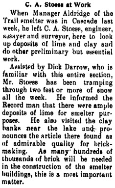 Cascade Record, Cascade, B.C., January 14, 1899, page 7; https://open.library.ubc.ca/collections/bcnewspapers/cascade/items/1.0067575#p6z-2r0f: