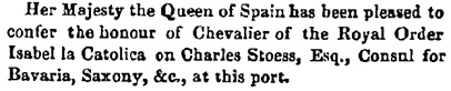 News of the Day, Daily Post (Liverpool, England), issue 973, July 24, 1858; page 4.
