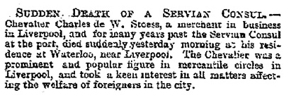 """""""Local and General,"""" Leeds Mercury (Leeds, England), Issue 16532, April 2, 1891, page 5."""