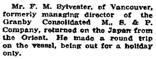 Victoria Daily Colonist, August 10, 1920, page 17.