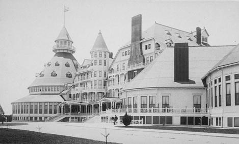Hotel del Coronado, Coronado, San Diego County, California; Online Archive of California, Local Call Number: BANC PIC 1962.005:03--PIC http://oac.cdlib.org/ark:/13030/tf2r29p39s/?brand=oac4