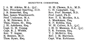 Manitoba University Calendar, 1895, Wesley College Executive Committee, page 35; https://books.google.ca/books?id=TZzOAAAAMAAJ&pg=PA35&lpg=PA35&dq=rev+%22j+m+harrison%22#v=onepage&q=rev%20%22j%20m%20harrison%22&f=false