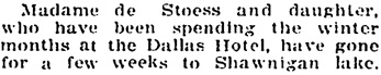 """""""Social and Personal,"""" Victoria Daily Colonist, May 3, 1908, page 11; http://archive.org/stream/dailycolonist19080503uvic/19080503#page/n10/mode/1up"""