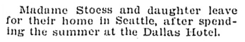 """""""Social and Personal,"""" Victoria Daily Colonist, November 1, 1908, page 11; http://archive.org/stream/dailycolonist19081101uvic/19081101#page/n10/mode/1up"""