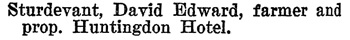 Henderson's BC Gazetteer and Directory, 1899-1900, page 260 (Huntingdon)