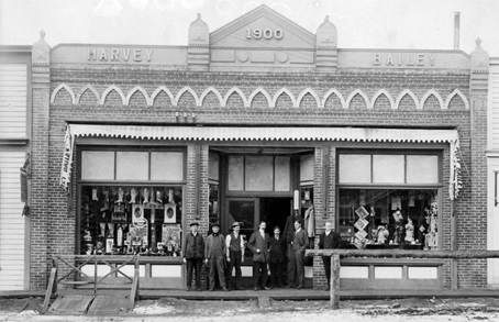 Harvey And Bailey Store at Ashcroft, about 1900, British Columbia Archives, Item F-06860; http://search.bcarchives.gov.bc.ca/harvey-and-bailey-store-at-ashcroft