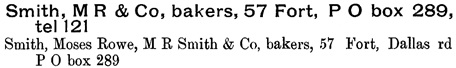 Williams' Illustrated Official BC Directory Part 1, 1892, page 510 (Victoria)