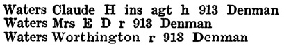 Henderson's Greater Vancouver City Directory, 1918, page 890.