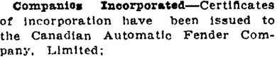 Victoria Daily Colonist, October 11, 1912, page 6, column 4; http://archive.org/stream/dailycolonist57257uvic#page/n7/mode/1up.