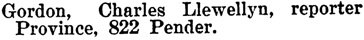 Henderson's BC Gazetteer and Directory, 1900-1901, page 821.