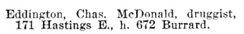 Henderson's BC Gazetteer and Directory, 1900-1901, page 806.