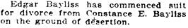 San Francisco Call, Volume 101, Number 22, 22 December 1906,page 9, column 2; https://cdnc.ucr.edu/cgi-bin/cdnc?a=d&d=SFC19061222.2.83&srpos=2&e=-------en--20--1--txt-txIN-constance+bayliss-------1.